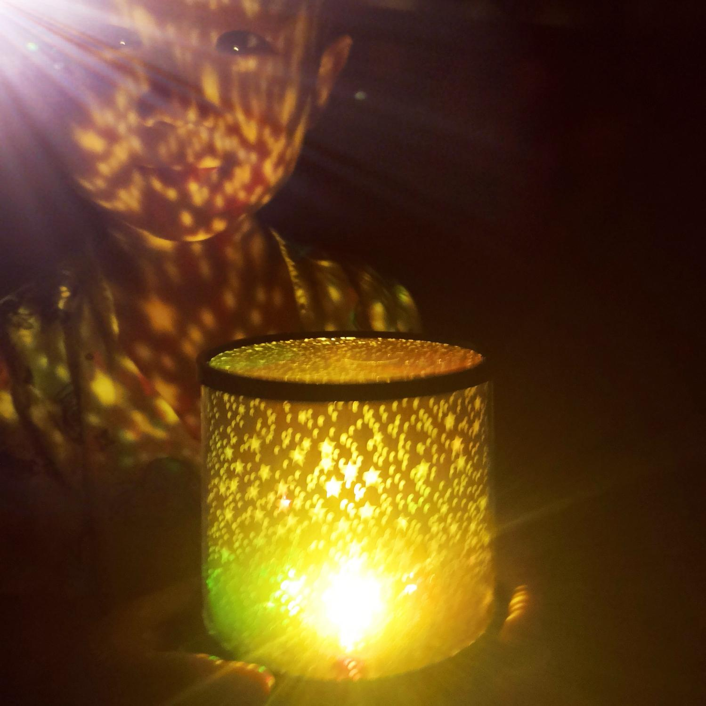 Novelty Gift Present Night Lamp Star Master Projector Night Light For Kids Children Girls