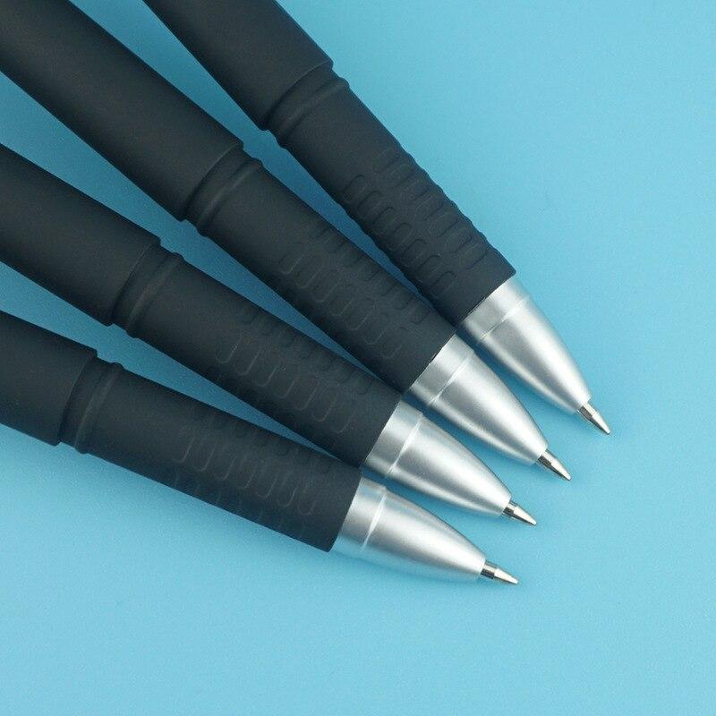 500 pcsset caneta impresso gel caneta logotipo 02