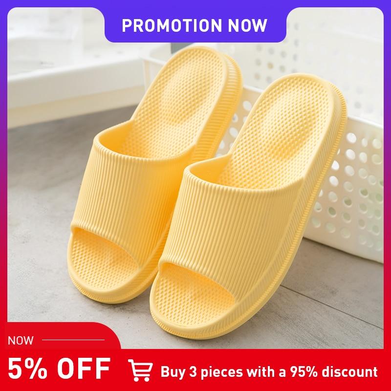 TZLDN 2019 Summer Massage Slipper Couples Beach Sandals Flip Flops Men Women Indoor Home Slippers