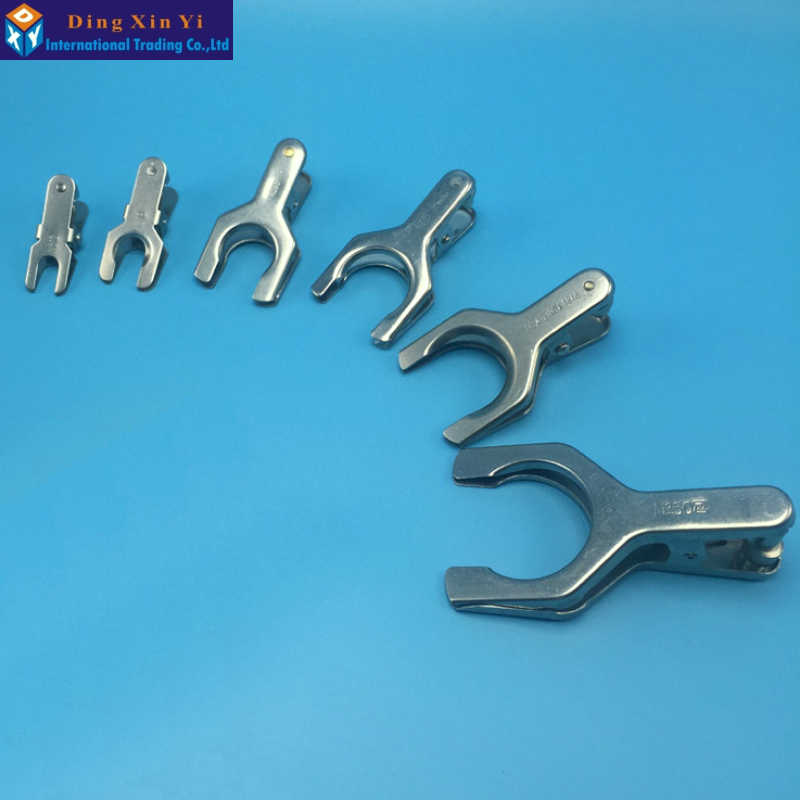 40# Spherical Interface Clip Laboratory Clamp Glassware Clip,Use For Glass Ground Joint