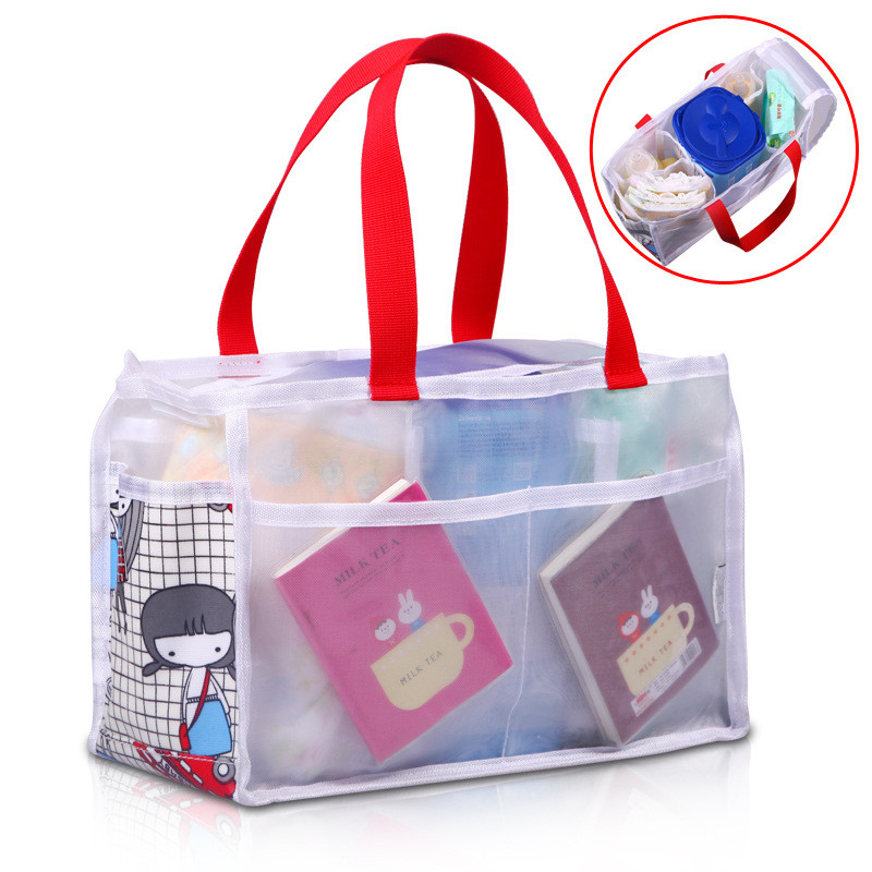 Diaper-Bag Travel Mommy Baby Portable 4-Styles 5-Liners