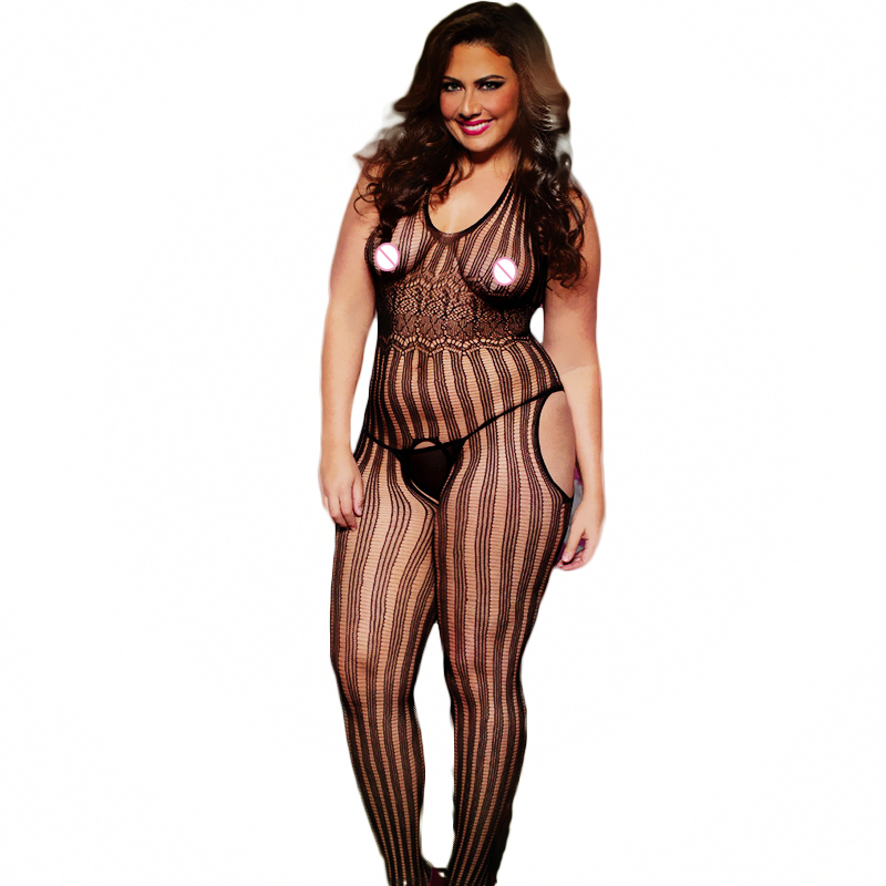 Sexy Lingerie hot Bodysuit Sexy Costumes Intimates Women Bodystocking open crotch font b sex b font
