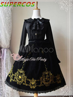 Free shipping! New Arrivals! High quality! Flannel Embroidered Fantastic Lolita Dress
