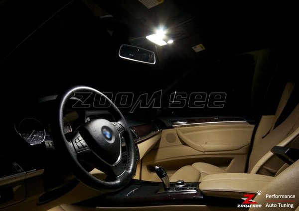 20 штук Светодиодный внутренний Купол Карта огни лампы для чтения(полный комплект) посылка для BMW X6 E71 E72 м(2008