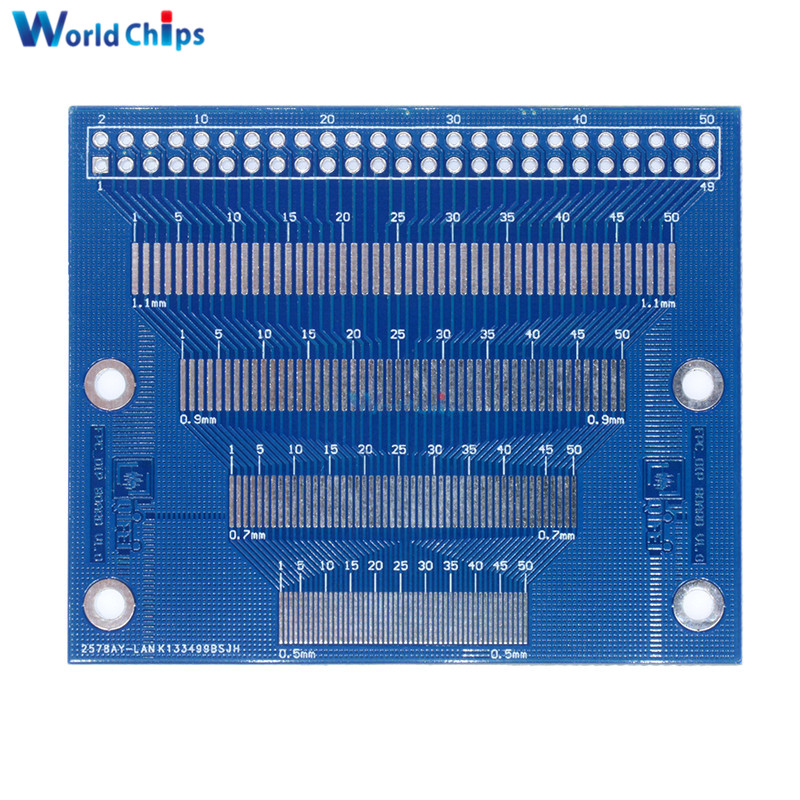 uxcell 20pcs FPC//FFC DIP24 0.5mm 1.0mm Double Sided Circuit Board PCB Adapter