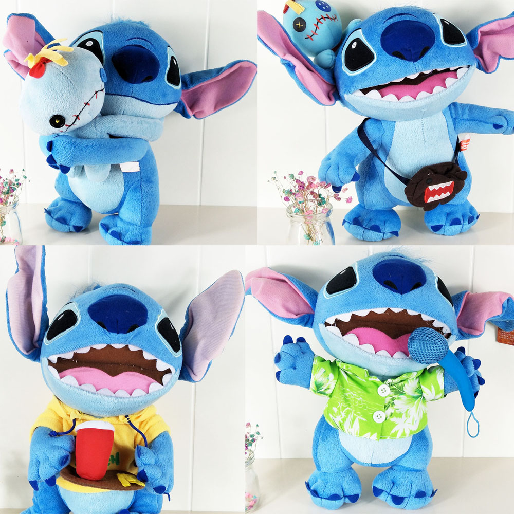 BOLAFYNIA Children Stuffed Toy interstellar stitch six kinds doll plush kid baby toys birthday gift random distribution of many models plush toys sponge baby stitch rabbit bear plush doll baby birthday gift