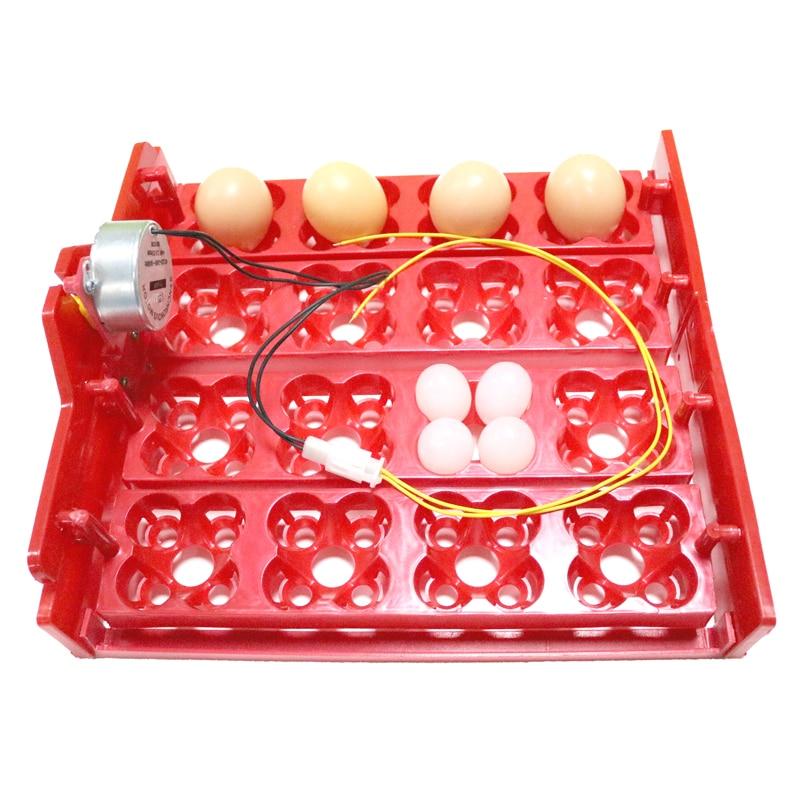 16 Toyuq Yumurtası 64 Bıldırcın Yumurtası Tutuquşu Yumurta Yumurta inkubator tepsisi Tətbiq olunan gərginlik 110v / 220v / 12v İnkubator aksesuarlarıdır