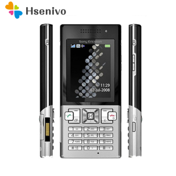 100% Original Unlokced Sony Ericsson T700 Mobile Phone 3G Bluetooth 3.15MP Camera FM Unlocked Cell Phone Free shipping
