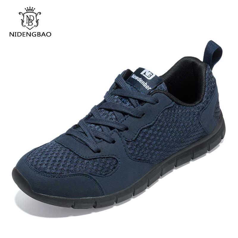1549e169a Брендовая повседневная обувь для мужчин на лето и весну, дышащая обувь для  взрослых, Мужская