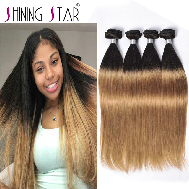 Brown roots blonde hair weave the best blonde hair 2017 dark brown to blonde ombre weave por haircuts in the usa pmusecretfo Gallery