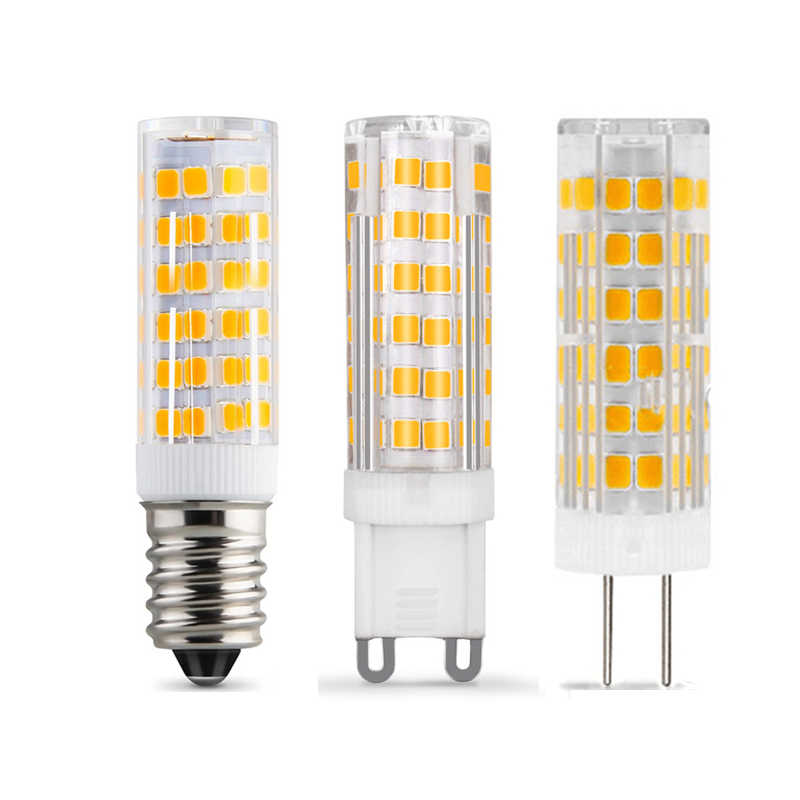 G4 LED מנורת G9 LED הנורה אור E14 Led תירס הנורה AC220V SMD2835 5 W 7 W 9 W 12 W 15 W LED זרקור 360 מעלות אורות נברשת