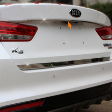 Stainless Steel Tailgate Rear Trunk Hatch UP Lid Trim For Kia Optima K5 2016