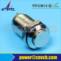 1008 Best 10mm high round normally open normally close latching function waterproof switch