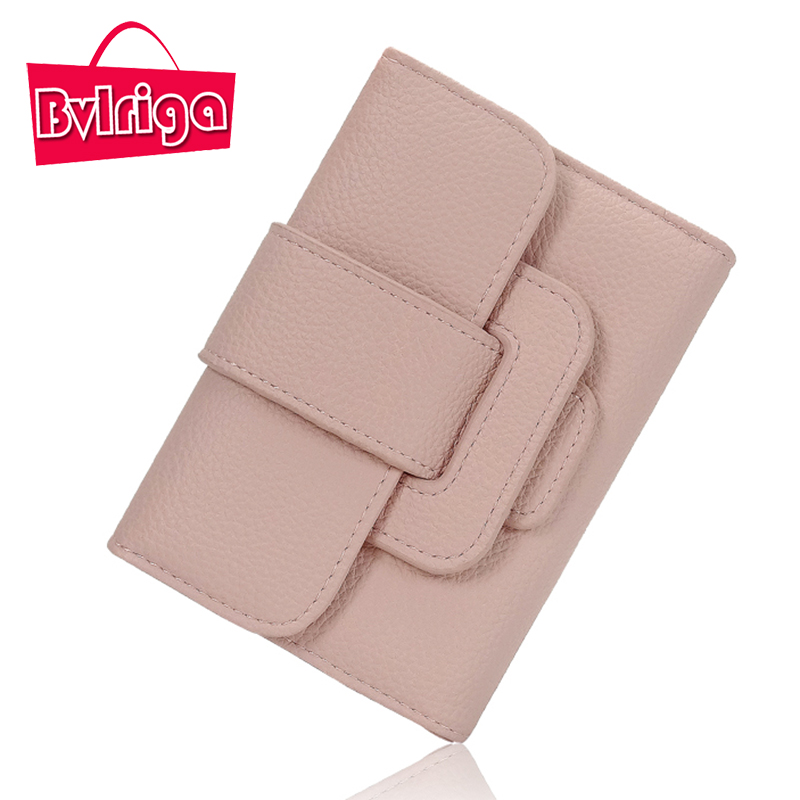 BVLRIGA Small Ladies Leather Wallet Women Wallets And Purses Female Coin Purse Id Credit Card Holder Cute Wallet Leather Walet bvlriga long ladies leather wallet women wallets and purses female coin purse clutches women card holder walet money bag blue