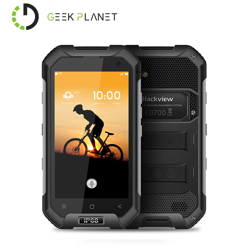 Цена за Оригинал blackview bv6000 mtk6755 octa core4g lte мобильный телефон 4.7 дюймов 3 ГБ + 32 ГБ android 6.0 4200 мАч 5mp + 13mp водонепроницаемый телефон