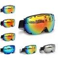 New Arrival Men Women Snow Ski Goggles Double UV400 anti-fog Snowboard Goggles Multicolor Glasses