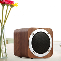 Quality Wood Mini Bluetooth Desktop PC Subwoofer Stereo USB Speaker Computer Speakers Loudspeaker for Laptop Notebook Phone