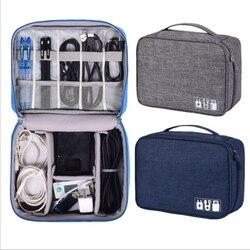 Data cable storage bag Multi-function digital storage bag U disk U shield headset charger power cord storage bag protection box