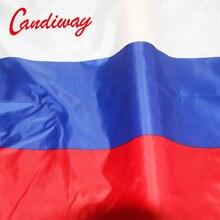 Candiway CCCP флаги Российской Федерации, флаг Российской Федерации, баннер со страной, русский флаг из полиэстера, 90x150 см