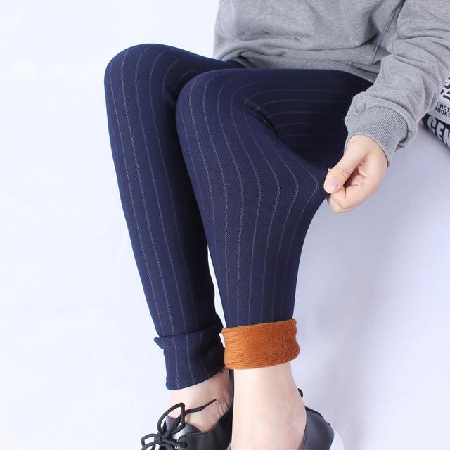 bfa1786318b Winter Thick Black Legging Large size XXXL XXXXL 5XL for Elastic Soft Women  All-match