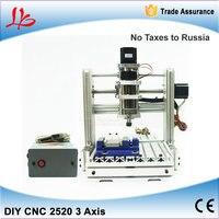 Free Taxes To Russia Ukraine DIY Mini CNC Engraving Machine CNC 2520 Wood Cutting Machine With