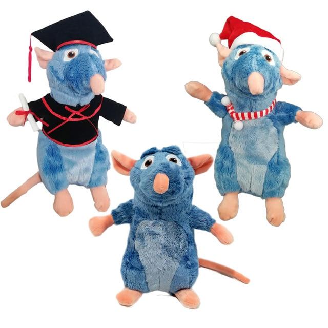 Ratatouille Remy Mouse Plush Cartoon Toys Cosplay Santa Claus