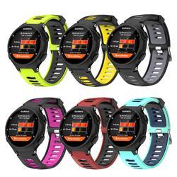 Силиконовый браслет для GarminForerunner 735XT/220/230/235/620/630 Смарт-часы