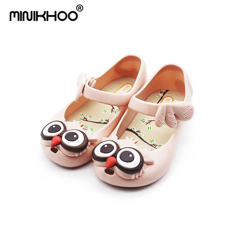 ca7a4c4e0e1f18 Detail Feedback Questions about Mini Melissa Owl Jelly Sandals Girl Shoes  In Summer Sapato Infantil Menina Sandals Toddler Girl Shoes Melissa  Comfortable on ...
