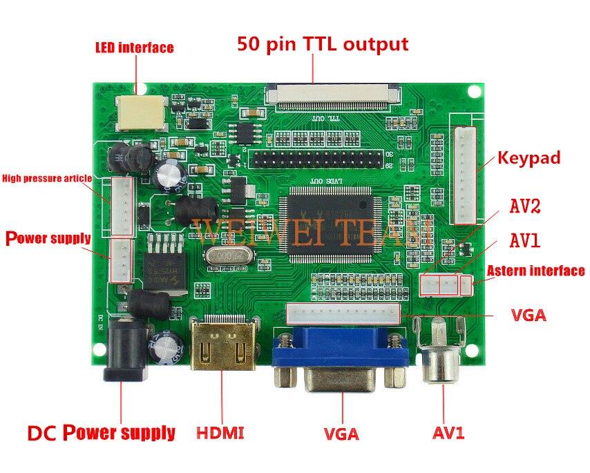United Raspberry VGA HJ080IA-01E