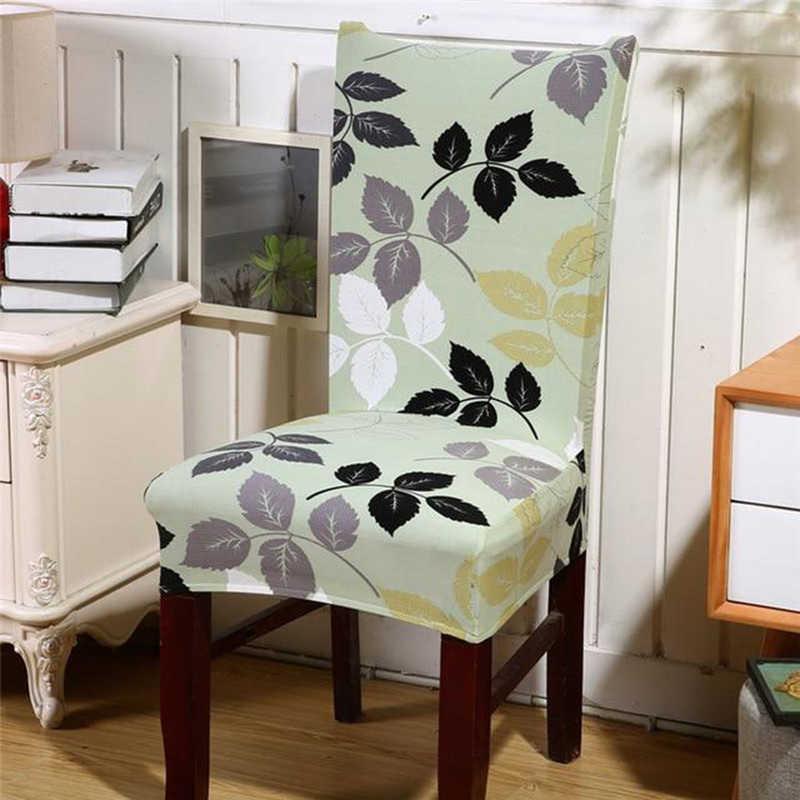 Naturelife Capas de Cadeira de Assento de Seda Elástica Caso Antifouling Casa Removível Moderno Padrão Americano Assento Protector Dropshipping