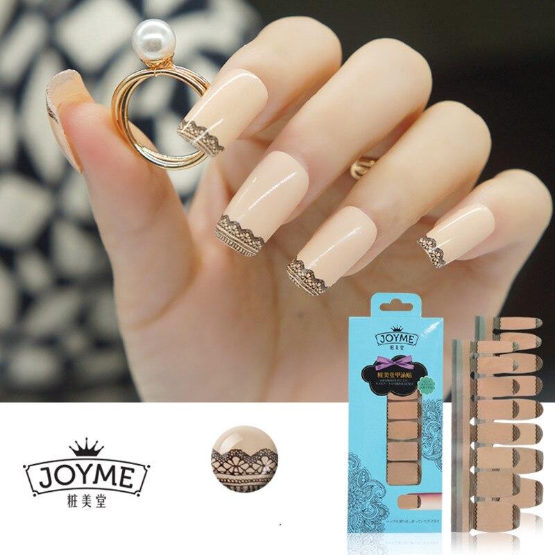 Fine Nail Strip Stickers Component - Nail Art Ideas - morihati.com