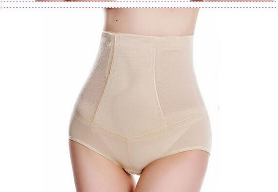 10pcs/lot free shipping Fashion Women High Waist Body Shaper control panty Slimming Tummy Control underwear