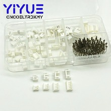 цена на 220pcs PH2.0 2p 3p 4p 5pin 2.0mm Pitch Terminal Kit / Housing / Pin Header JST Connector Wire Connectors Adaptor PH Kits