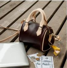 Best selling explosion!!! 2017 new fashion Genuine Leather women's handbag Speedy bag 30 / 35cm. Free Delivery