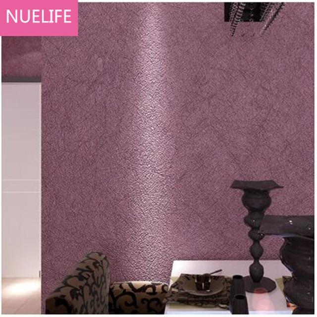 0 53x9 5cm Modern Simple Purple Wallpaper Bedroom Living Room Wedding Kids Waterproof