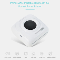 PAPERANG P1 Mini Wireless Photo Printer Portable Bluetooth Instant Mobile Printer for IPhone iPad Mac Android Devices