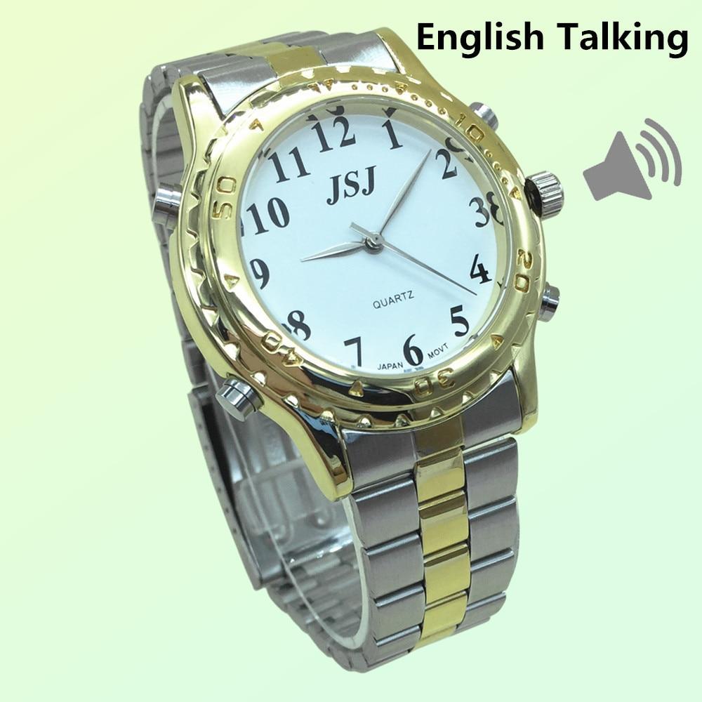 ca325fb1fe6 Mais recente Inglês Falando Relógio Para Cegos E Pessoas Idosas Ou Pessoas  Com Deficiência Visual em Amante de Relógios de Relógios no AliExpress.com  ...