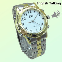 Newest English Talking Watch For The Blind And Elderly Or Visually Impaired People