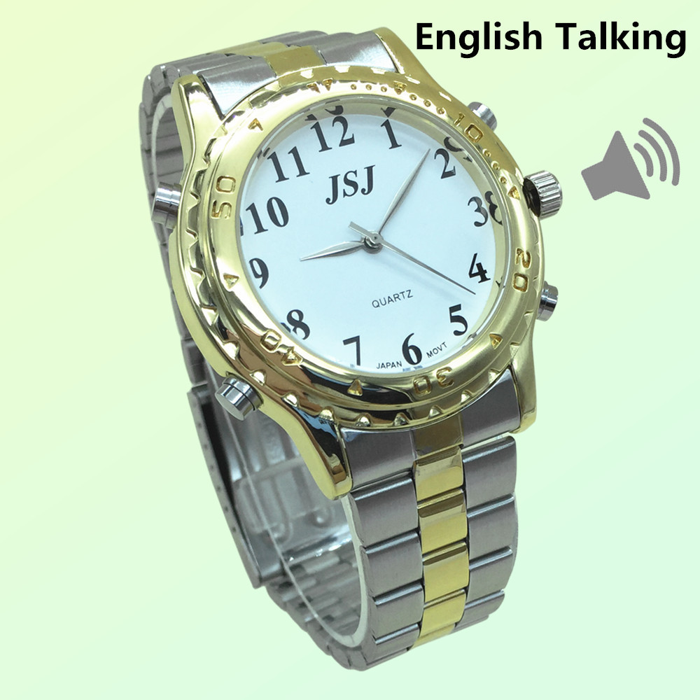 Newest English Talking Watch For The Blind And Elderly Or Visually Impaired PeopleNewest English Talking Watch For The Blind And Elderly Or Visually Impaired People