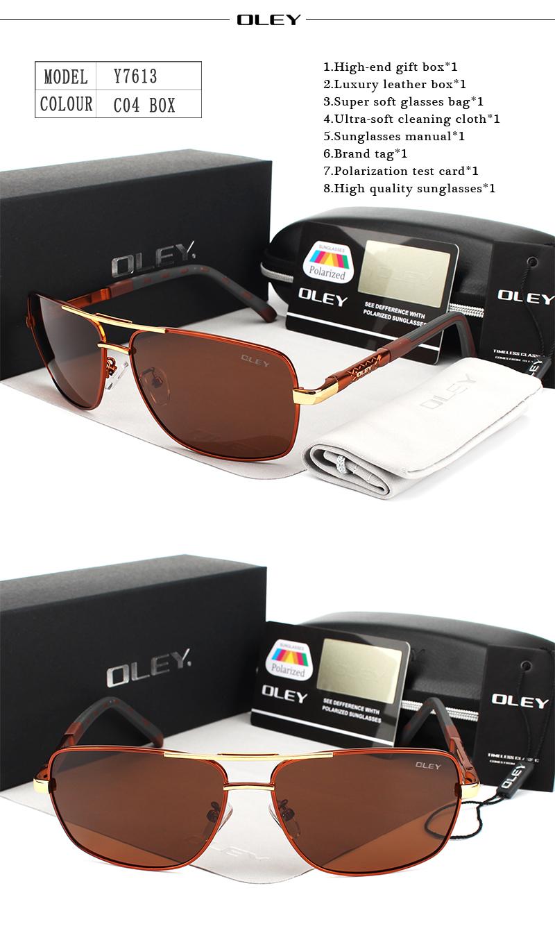 HTB1rhrARFXXXXamXXXXq6xXFXXXi - OLEY Brand Polarized Sunglasses Men New Fashion Eyes Protect Sun Glasses With Accessories Unisex driving goggles oculos de sol