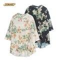 Цветочные асимметрия шифон дети для девочек одежда новинка бренд платье девушки дети рубашка платье принцессы детская одежда
