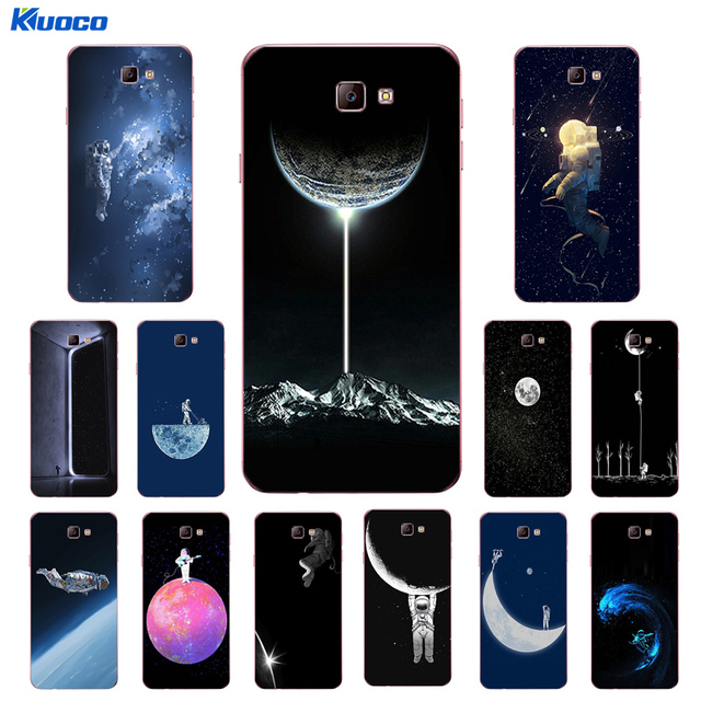 new style 7cdd4 2b717 US $1.19 43% OFF|Custom Cases For Samsung Galaxy J5 Prime / J7 Prime for J2  Prime Shell For J3 2016 2017 J3109 Soft TPU Spacewalk Printing Coque-in ...