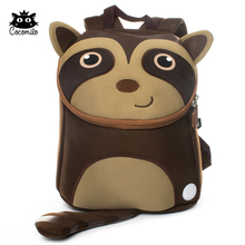 Cocomilo Brand Kid Backpack School Bag for Boys Cartoon Sloth Design Children Kindergarten Small School Bag Mochila Infantil