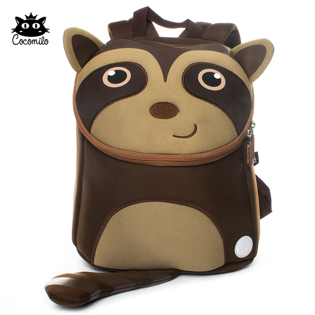 Cocomilo Brand Kid Backpack School Bag for Boys Cartoon Sloth Design  Children Kindergarten Small School Bag