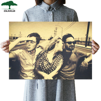 DLKKLB Classic TV Drama Poster The Big Bang Theory Vintage Kraft Paper Wall Sticker TBBT Home Living Room Decorative Painting image