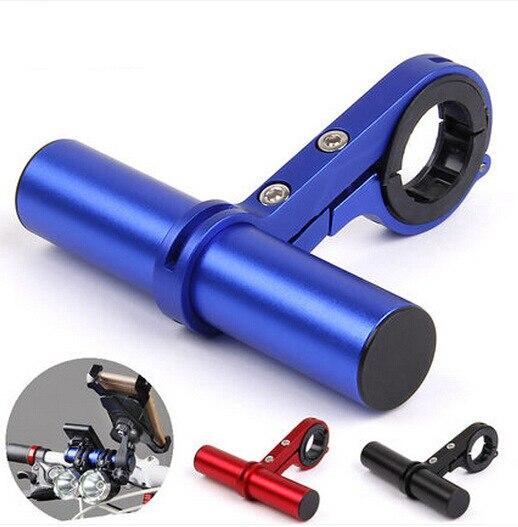 MTB Cycling Handlebar Extension Bicycle Mount Extender Holder <font><b>Computer</b></font> Light Lamp Flashlight Bracket Bike Stopwatch 31.8/25.4mm