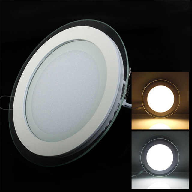 6W 9W 12W 18W Panel LED Downlight Cuadrado cubierta de vidrio Luces - Iluminación interior - foto 4