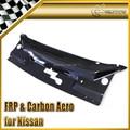 Car-styling For Nissan 180SX S13 Garage Defend Real Carbon Fiber Cooling Panel