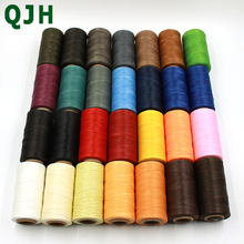 260m 150D Leather Sewing Wax Thread Hand Stitching Cord Craft DIY Leather  Tools Sewing Craft Leather Special Flat Waxed line