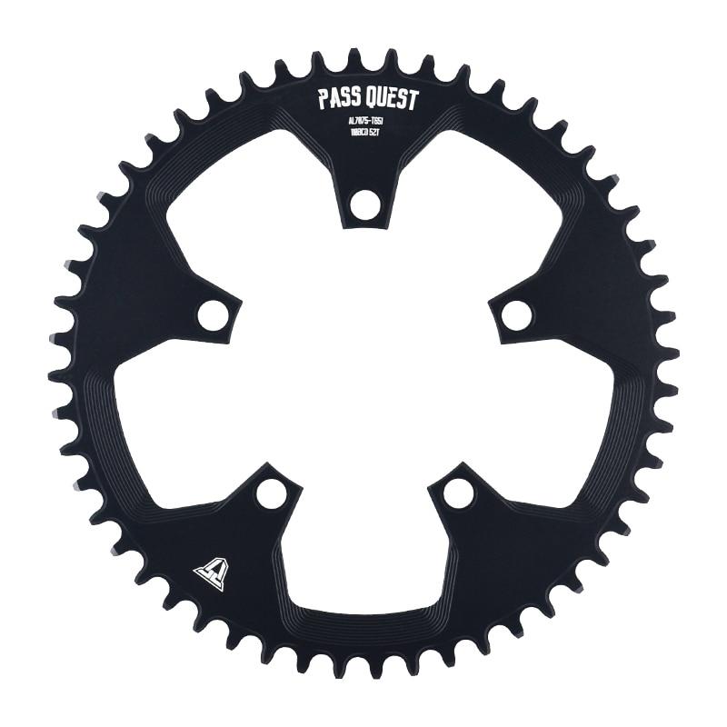 110 5 BCD 110BCD Road Bike 50-58t Narrow Wide Chainring Bike Chainwheel